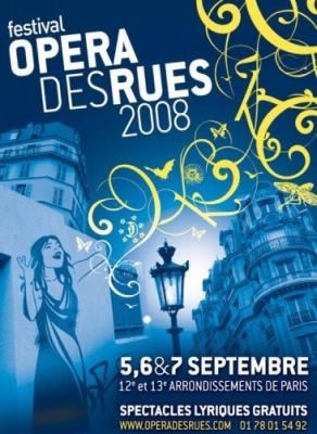 Culture, Paris, Opéra des rues, Festival