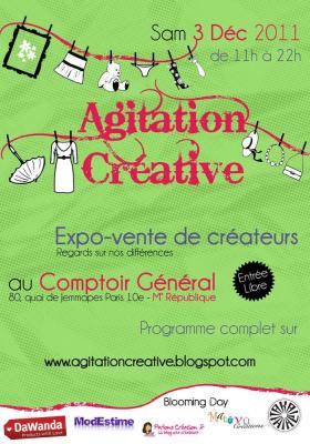 Salon Agitation Créative