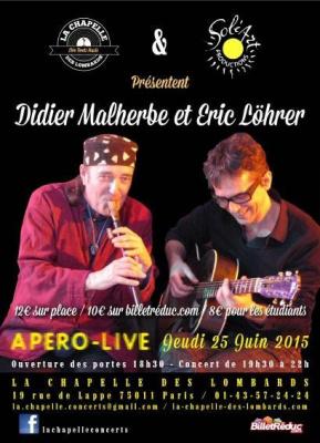 Didier Malherbe et Eric Lohrer