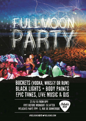 Belushi's Full Moon Party