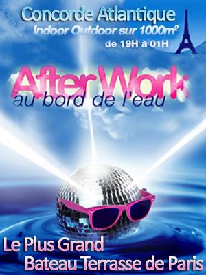 AFTERWORK @ LA VOILE PARISIENNE BIG OPENING PARTY