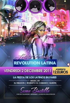 REVOLUTION LATINA PARTY (latino, tropicale, généraliste)
