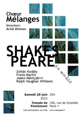 Chœur Mélanges / Shakespeare in music