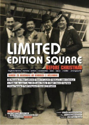 LIMITED EDITION SQUARE. Before Christmas