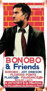 Bonobo & Friends : Bonobo, Joy Orbison, Floating Points, Flako...
