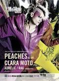 Allez Allez les Filles invite Peaches (DJ Set) et Clara Moto