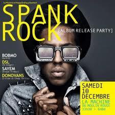 Spank Rock Release Party