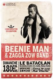 BEENIE MAN & Zagga Zow Band