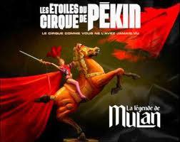 """Les étoiles du cirque de Pékin - """"La légende de Mulan"""""""