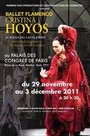 Ballet flamenco Cristina Hoyos