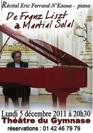 De Franz Liszt à Martial Solal