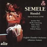 Semele, opéra en version de concert de Haendel