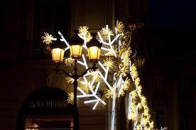 Illuminations de Noël : place Vendôme et alentours