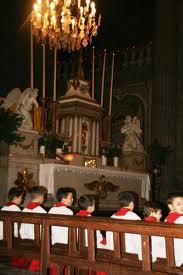 Messe de Noël à l'Eglise de la Madeleine