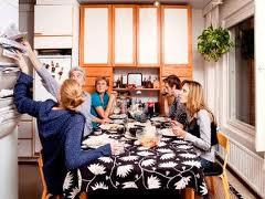 Les finlandais à table