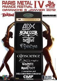 Paris Metal France Festival Edition IV