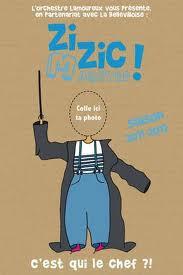 """Zizic Maestro """"Histoires de Fou"""" avec l'Orchestre Lamoureux"""