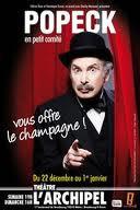 POPECK en petit comité vous offre le champagne