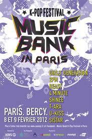 Music Bank K-pop Festival in Paris
