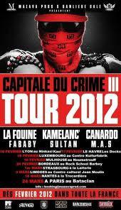 La Fouine présente Capitale du Crime 3 Tour