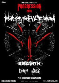 Heaven Shall Burn + Unearth + Rise To Remain + Naera