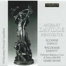 Mozart, Davidde Penitente