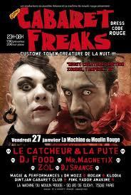 Cabaret Freaks – « Créatures de la Nuit »