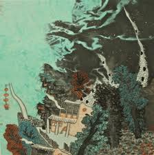 """""""Le crépulscule des Dieux"""" : Guo Huawei, et céramiques de François Debien"""