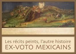 """""""Les récits peints, l'autre histoire"""", Ex-voto mexicains"""