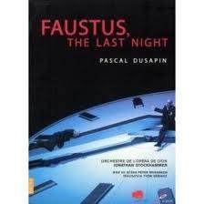 Faustus, the last night de Pascal Dusapin