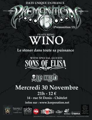 Premonition 13 + Sons of Elisa