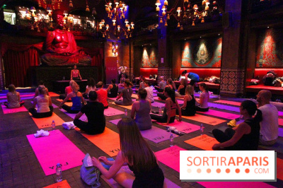 Yoga Brunch au Buddha Bar