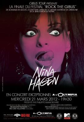 NINA HAGEN CONCERT À L'OLYMPIA FESTIVAL ROCK THE GIBUS