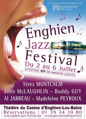 Affiche Enghien Jazz Festival 2008