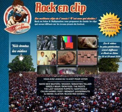 Rock en clip