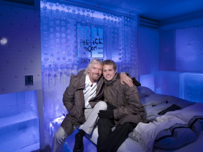 HOTEL KUBE ICE ROOM - Richard et Sam Branson