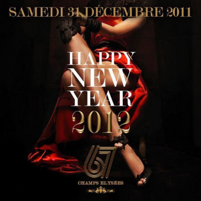 HAPPY NEW YEAR '' CHAMPS-ELYSEES 2012 ''