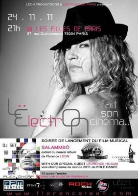 """SOIRÉE DE LANCEMENT """"SALAMMBÔ"""" - LËlectrON fait son cinéma ..."""