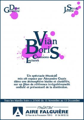 Boris Vian - Chansons et lectures