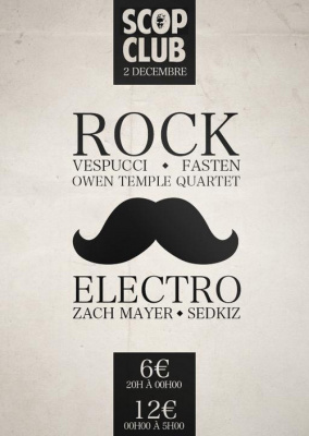 Vespucci//Fasten//Owen Temple Quartet//Zach Mayer//Sedkiz//Scop' Club//02.12.2011