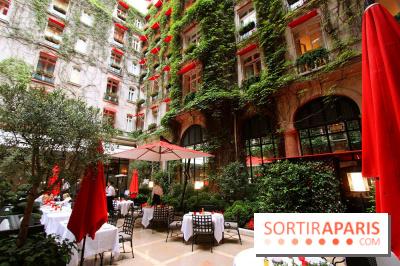 Ouverture de la terrasse d 39 t du plaza ath n e for Restaurants paris avec terrasse ou jardin