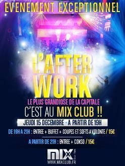 Afterwork @ Mix club