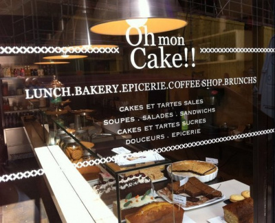 oh my cake On carte de salon de thÃ