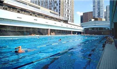D coration de la maison piscine municipale de paris for Piscine 75009