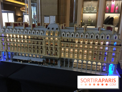 Le Mini Paris en Lego au Hilton Paris Opéra