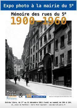 Mémoire des Rues du 5e 1900-1960