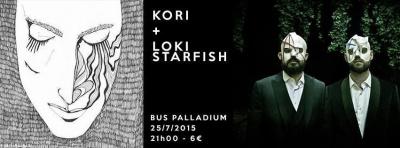 KORI + LOKI STARFISH au Bus Palladium