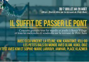 PLACE KLEZMER- IL SUFFIT DE PASSER LE PONT 2015
