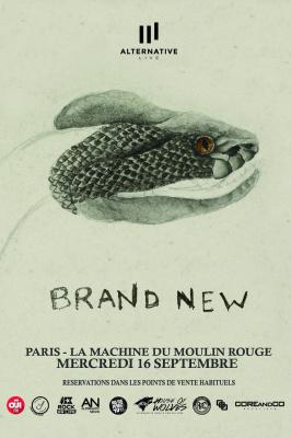 BRAND NEW + BASEMENT | 16.09.15 | Paris