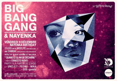 BIG BANG GANG PARTY feat NAYENKA BDAY : Let's get back in the groove !!!